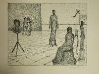 Edgar Augustin - Im Atelier